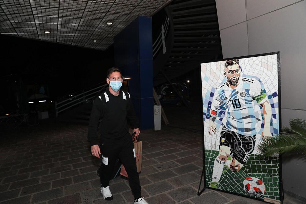 messi ezeiza eliminatorias